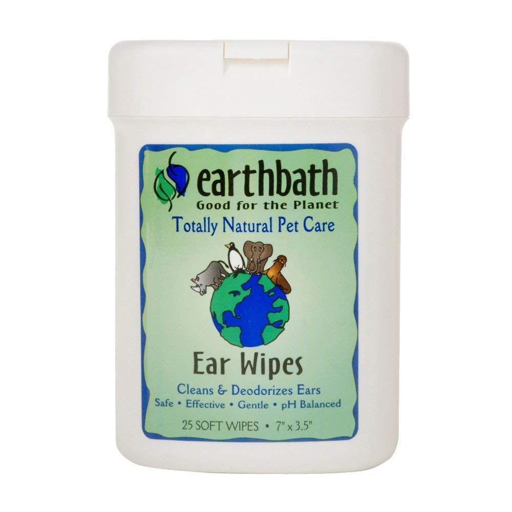 EarthBath Fragrance Free Ear Wipes For Pets