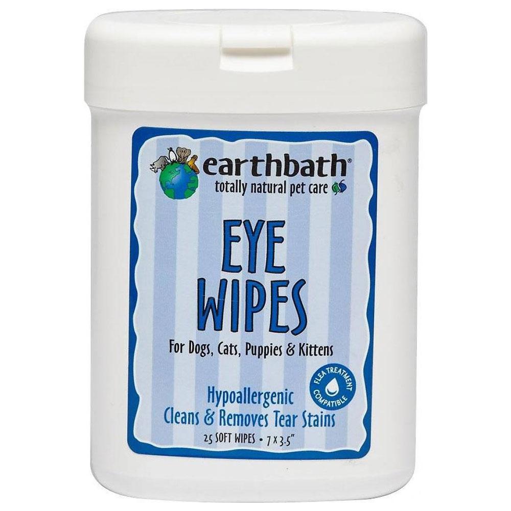EarthBath Fragrance Free Eye Wipes For Pets