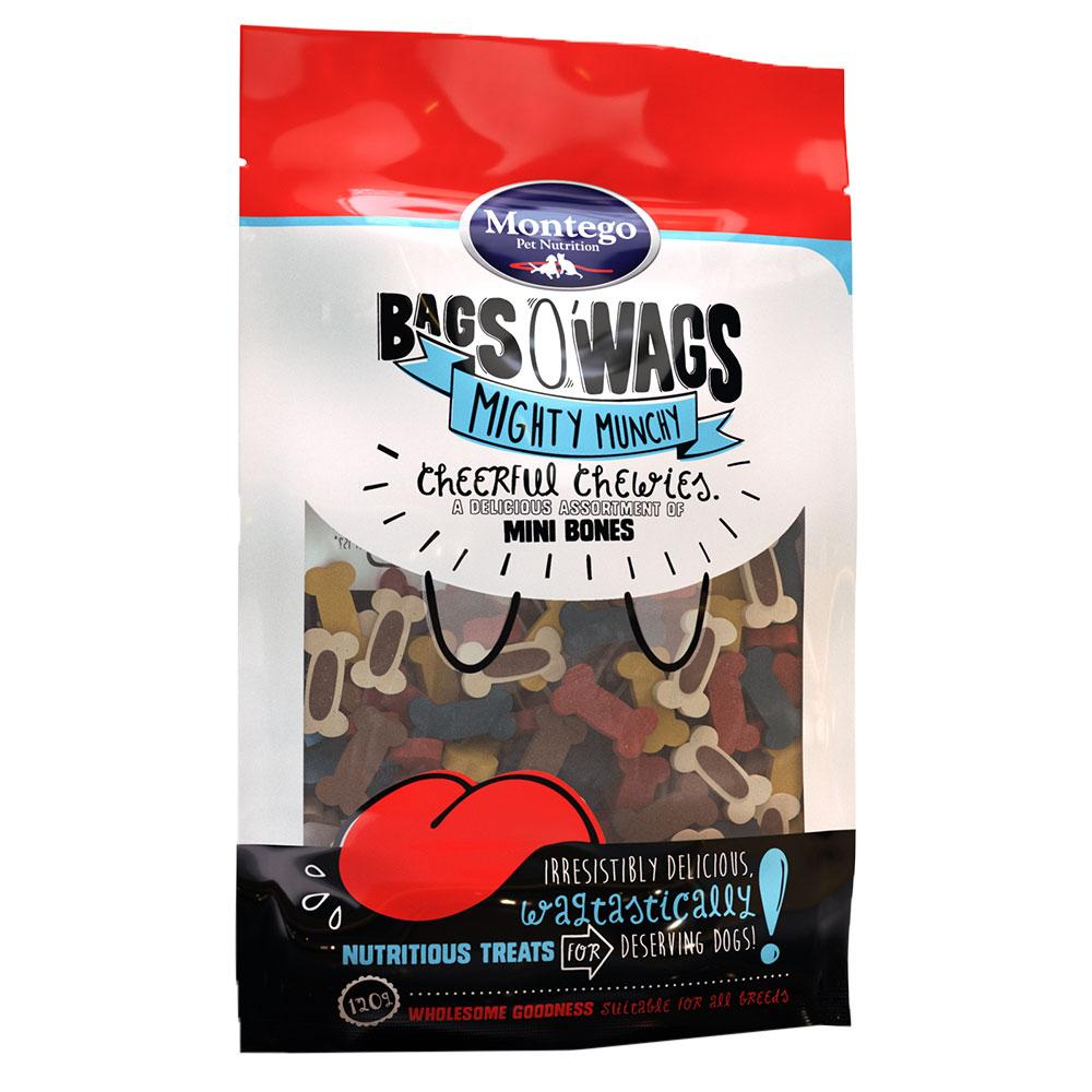 Montego Bags O' Wags Chewies Cheerful Assorted Mini Bones