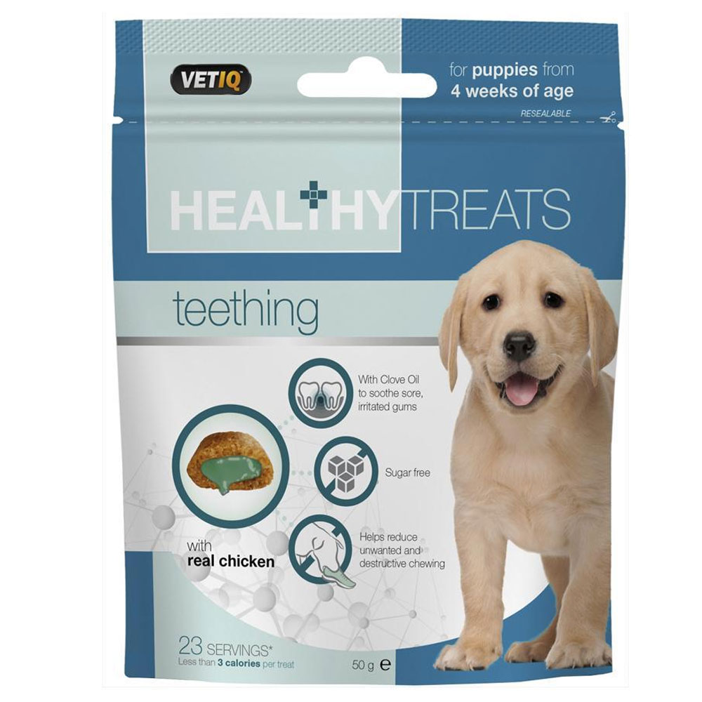 Mark&Chappell Healthy Teething Treats with Real Chicken