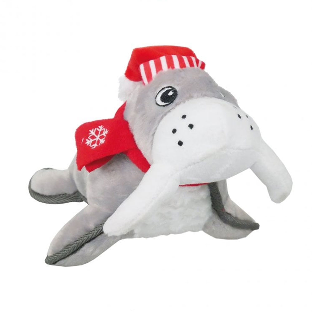 Limited Edition - Rosewood Christmas Tough Winter Walrus Toy For Dogs