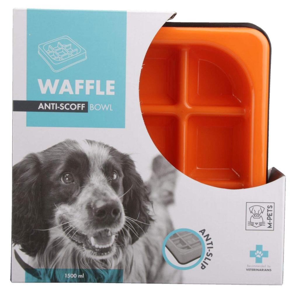 M-Pets Waffle Bowl