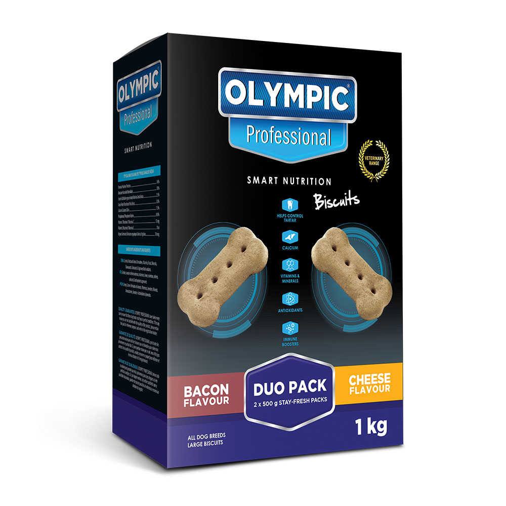 Olympic Professional Bacon & Cheese Biscuits