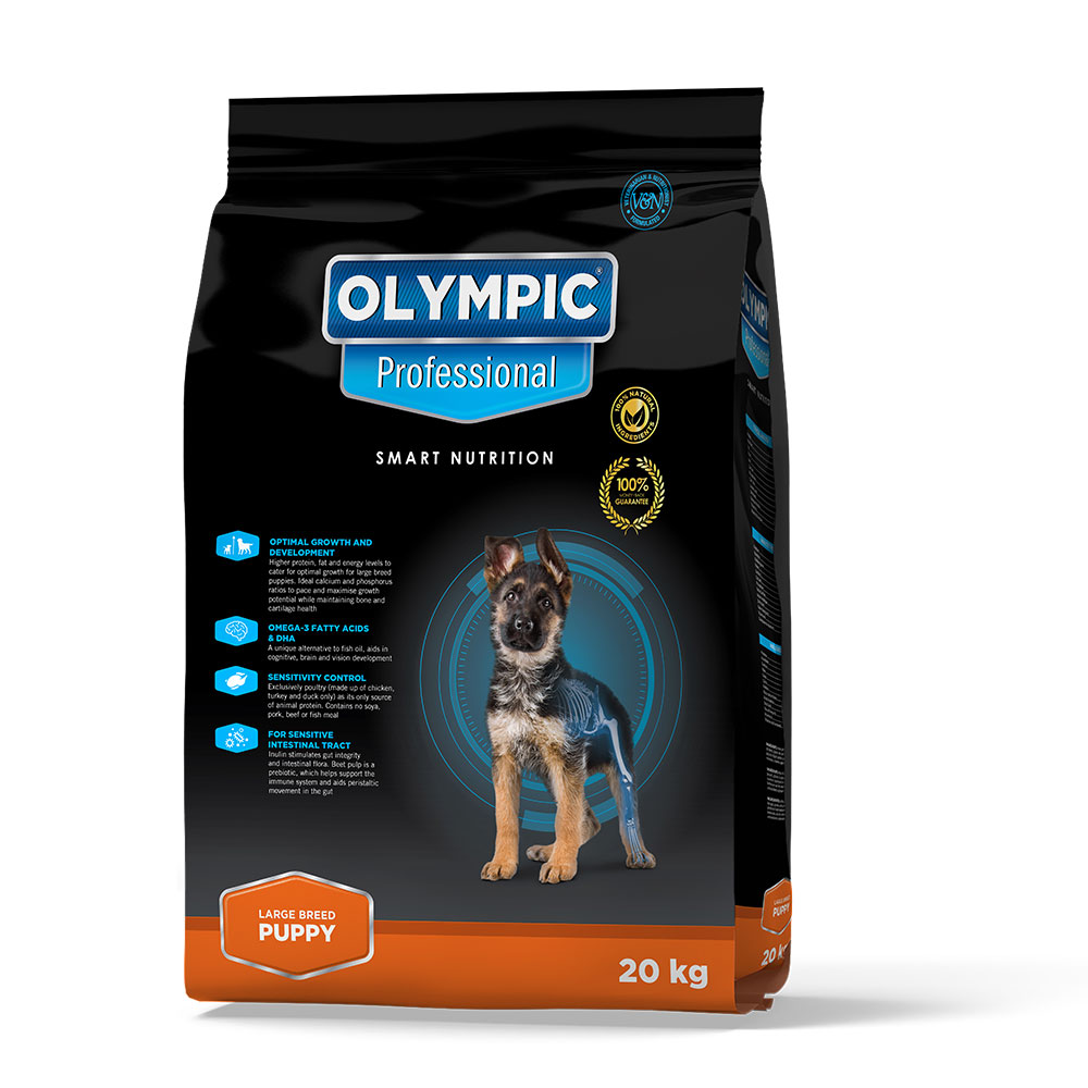 Olympic Professional Large Breed Puppy