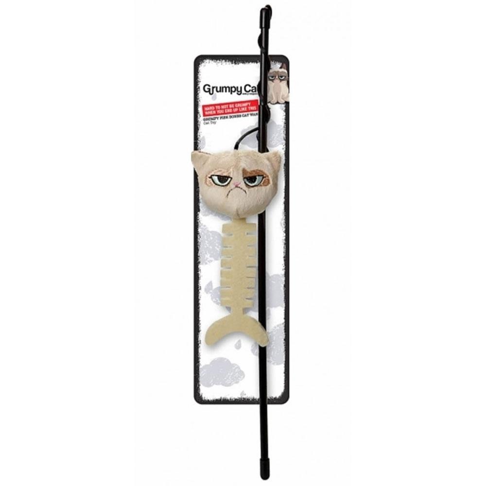 Rosewood Grumpy Cat Catfish Cat Wand