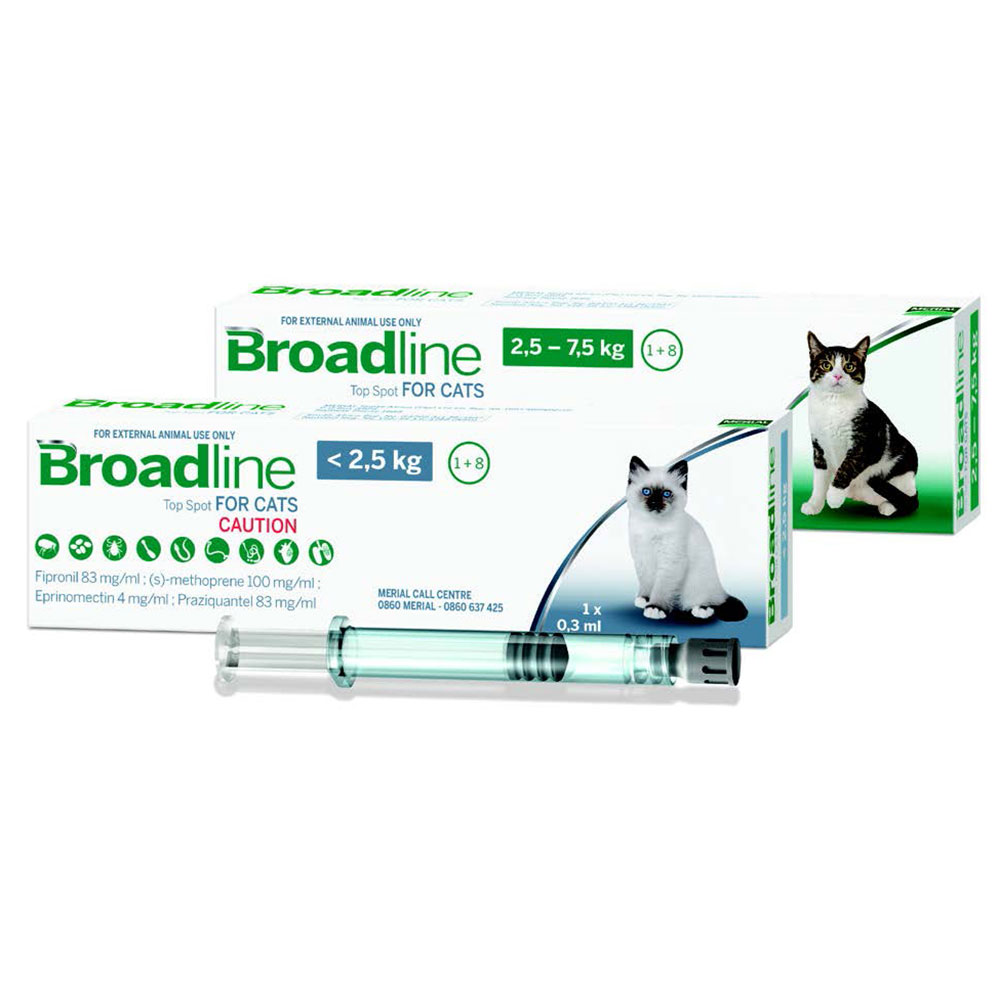 Broadline Spot-on Solution for Cats