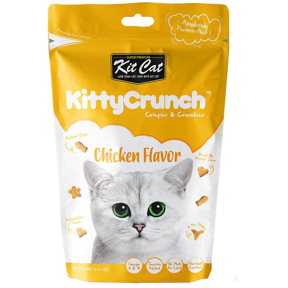 Kit Cat KittyCrunch Chicken 60g
