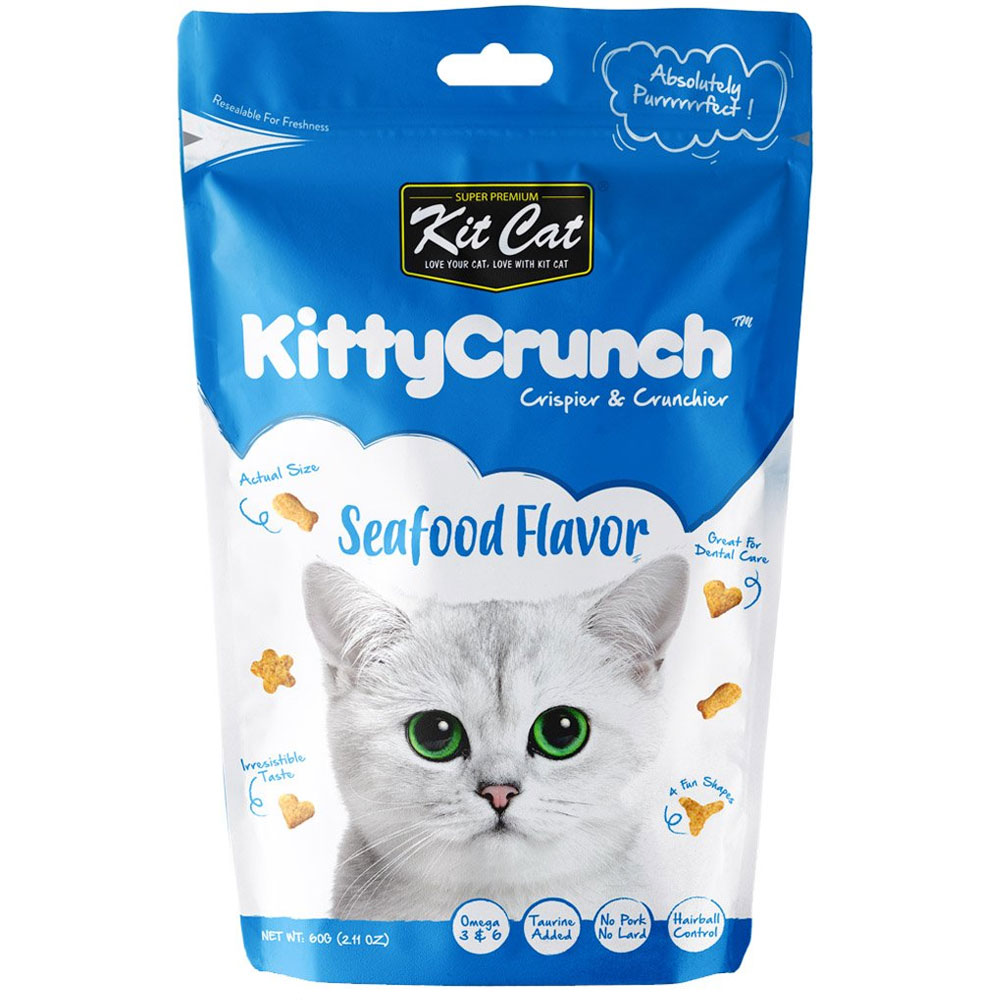 Kit Cat KittyCrunch Seafood 60g