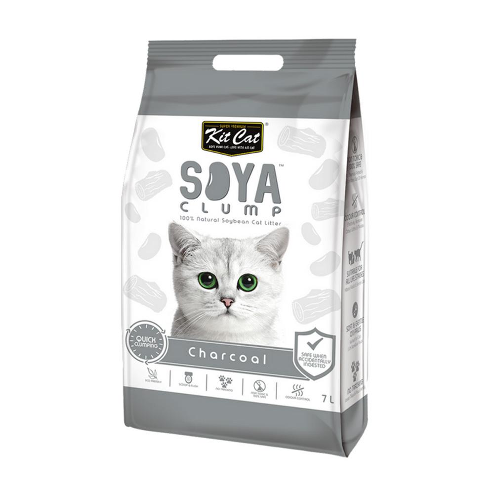 Kit Cat Soya Litter - Charcoal 2.8 kg