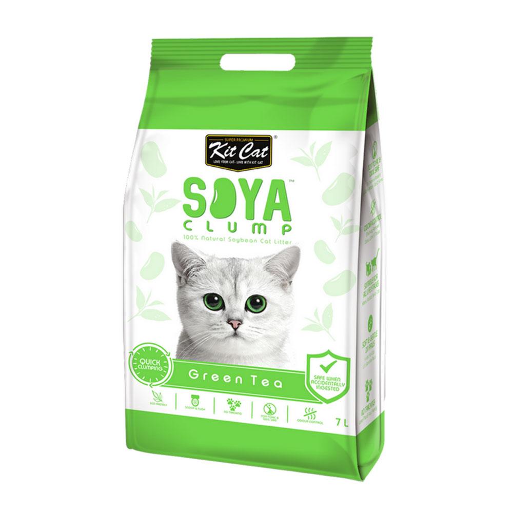Kit Cat Soya Litter - Green Tea 2.8 kg