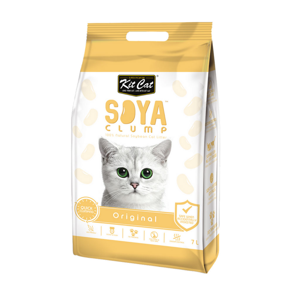 Kit Cat Soya Litter - Original 2.8 kg