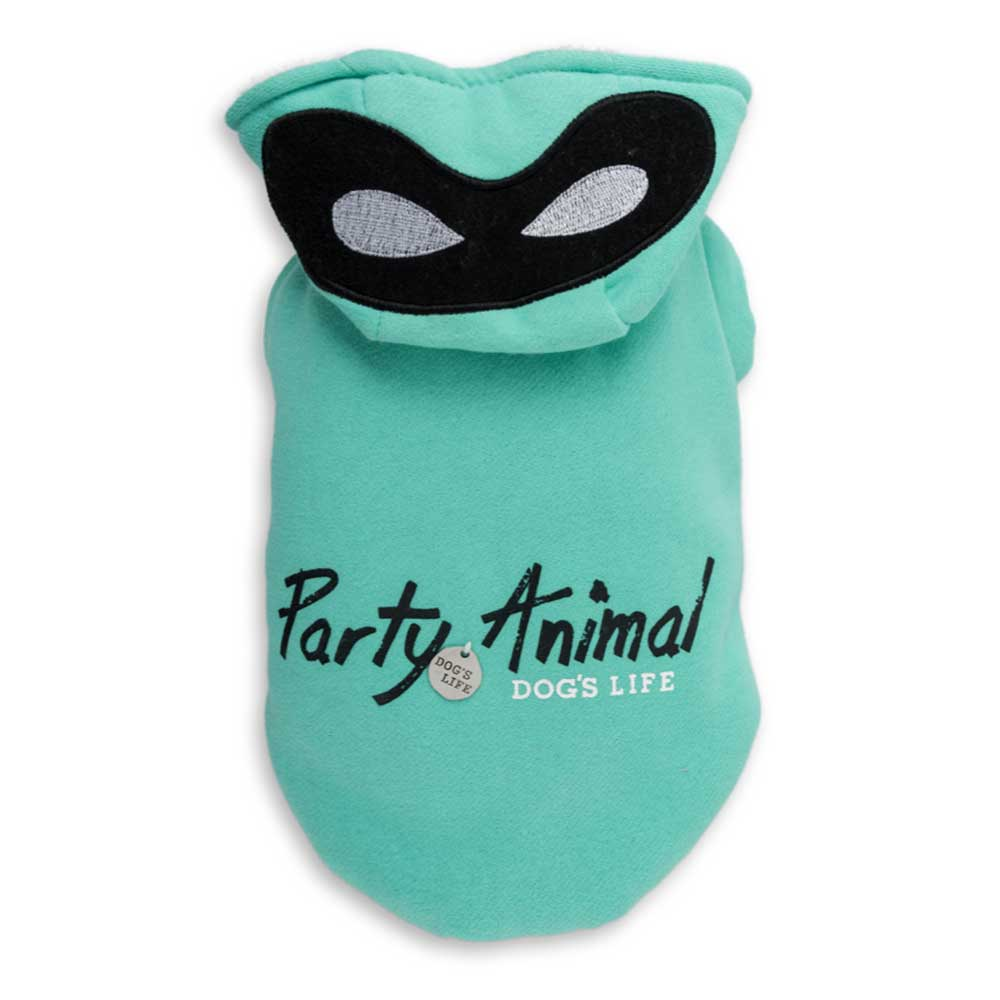 Dog's Life Party Hoodie Mint