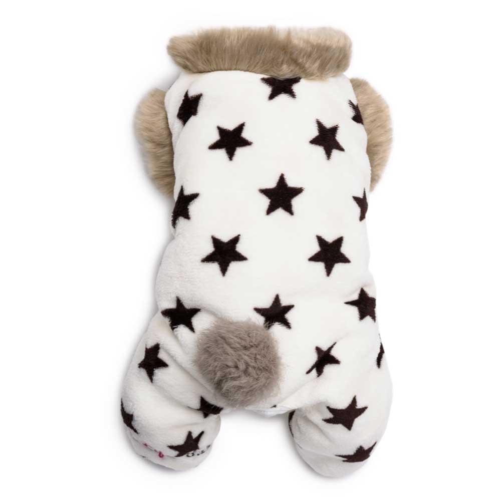 Dog's Life Puppy Stars Pajamas (white)