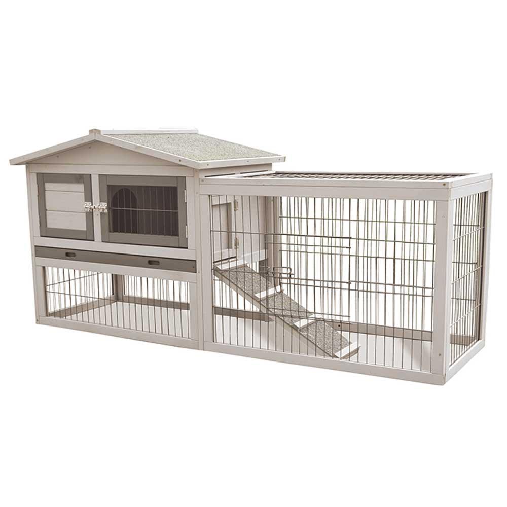 M-Pets Wooden Rabbit Hutch