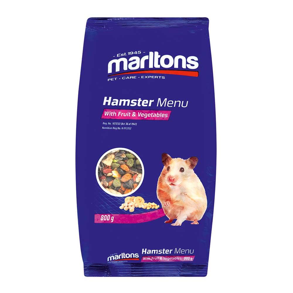 Marltons Hamster Menu