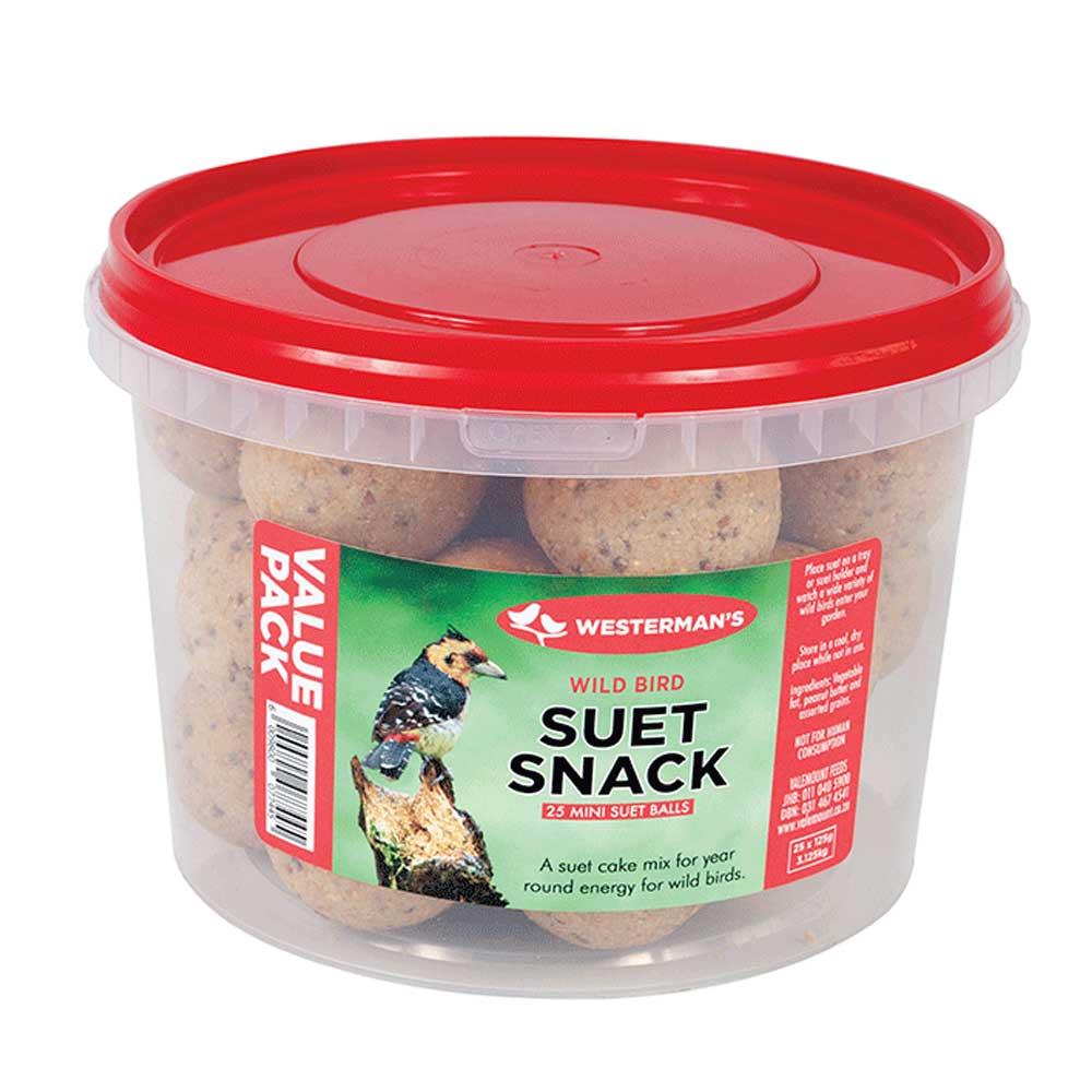 Westerman's Suet Snack Mini Ball Value Tub