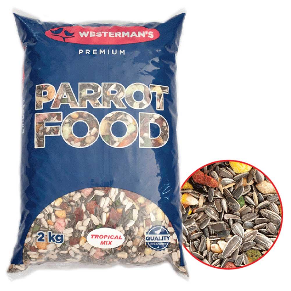 Westerman's Tropical Parrot Food