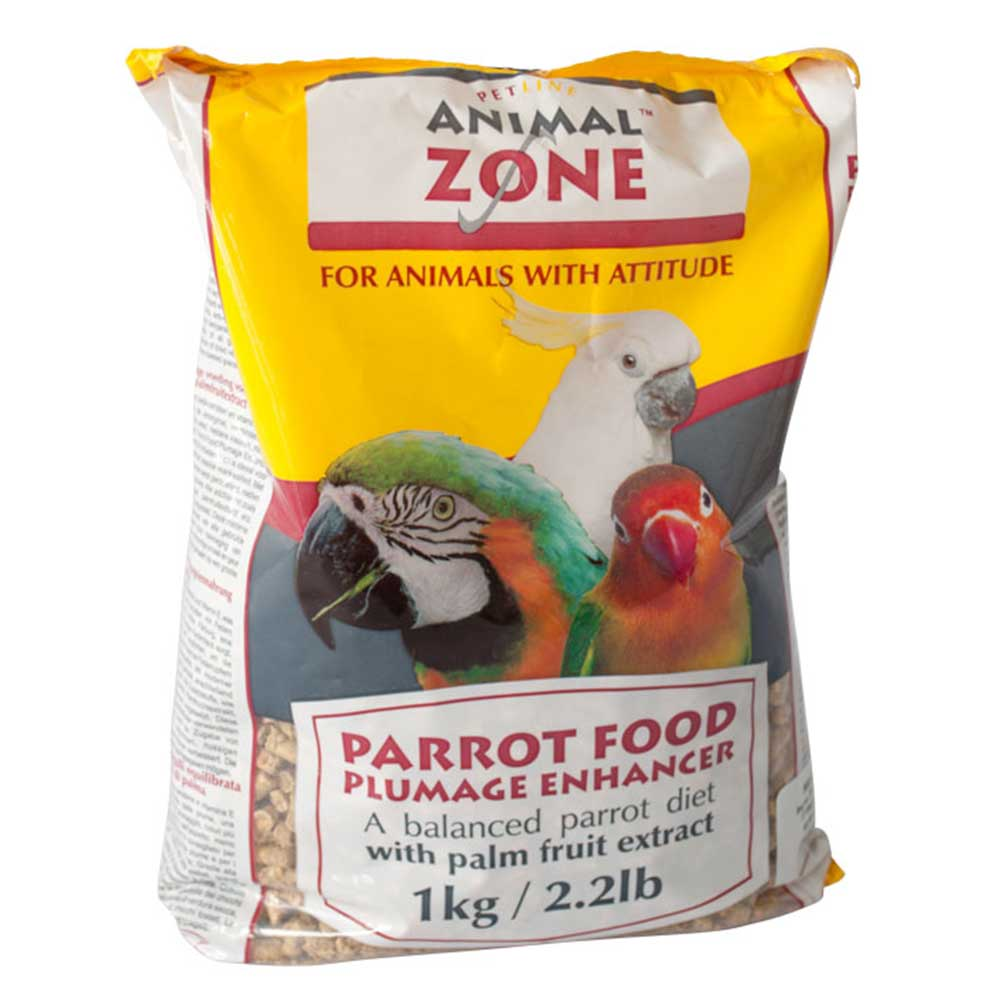 AnimalZone Parrot Food Plumage Enhancer