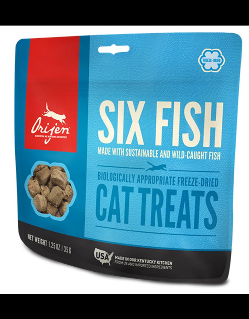 Orijen 6 fish Cat freeze dried treats