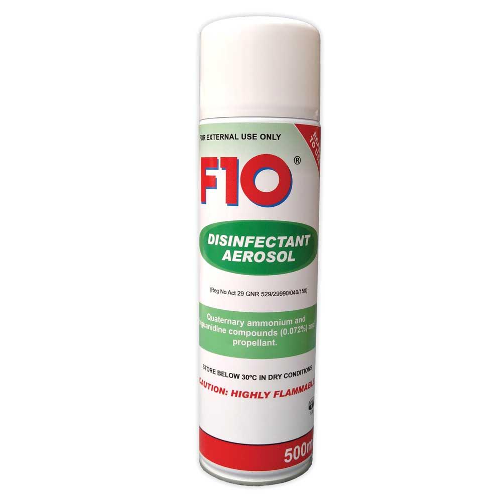 F10 Disinfectant Aerosol 500 ml