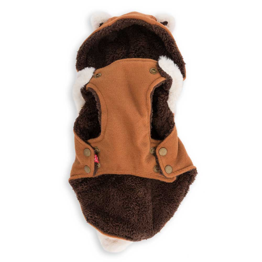 Dog's Life Fox Hooded Coat (back)