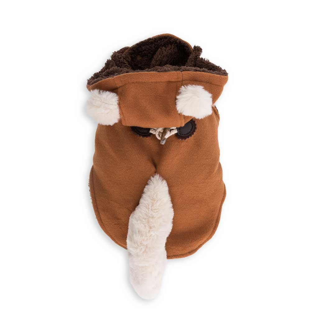 Dog's Life Fox Hooded Coat (front)